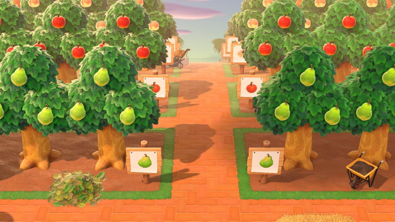 果樹園 あつ森 【あつ森】果樹園の開拓2